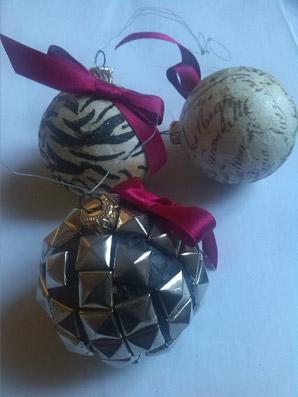 """Sfere natalizie di """"Icaro Art"""""""