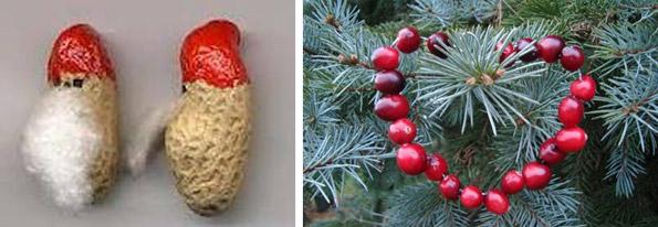 "Frutta...natalizia! - da ""www.pinterest.com"" (foto a sinistra); da ""www.earth911.com"" (foto a destra)"
