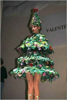 """Abito a tema natalizio! - da """"www.delgeen.com"""""""