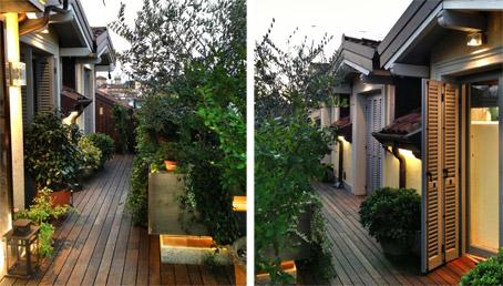 In diretta dallo studio pozzi su un terrazzo a milano la - Progettazione terrazzi milano ...
