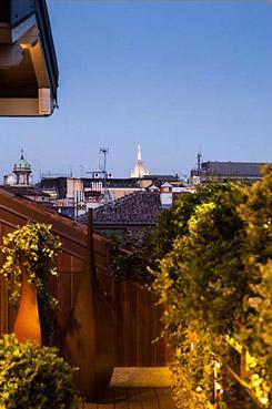 Terrazzo privato a Milano - Foto di Matteo Carassale