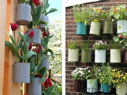 Idee per il riciclo in terrazzo paesaggi blog for Idee per creare un giardino