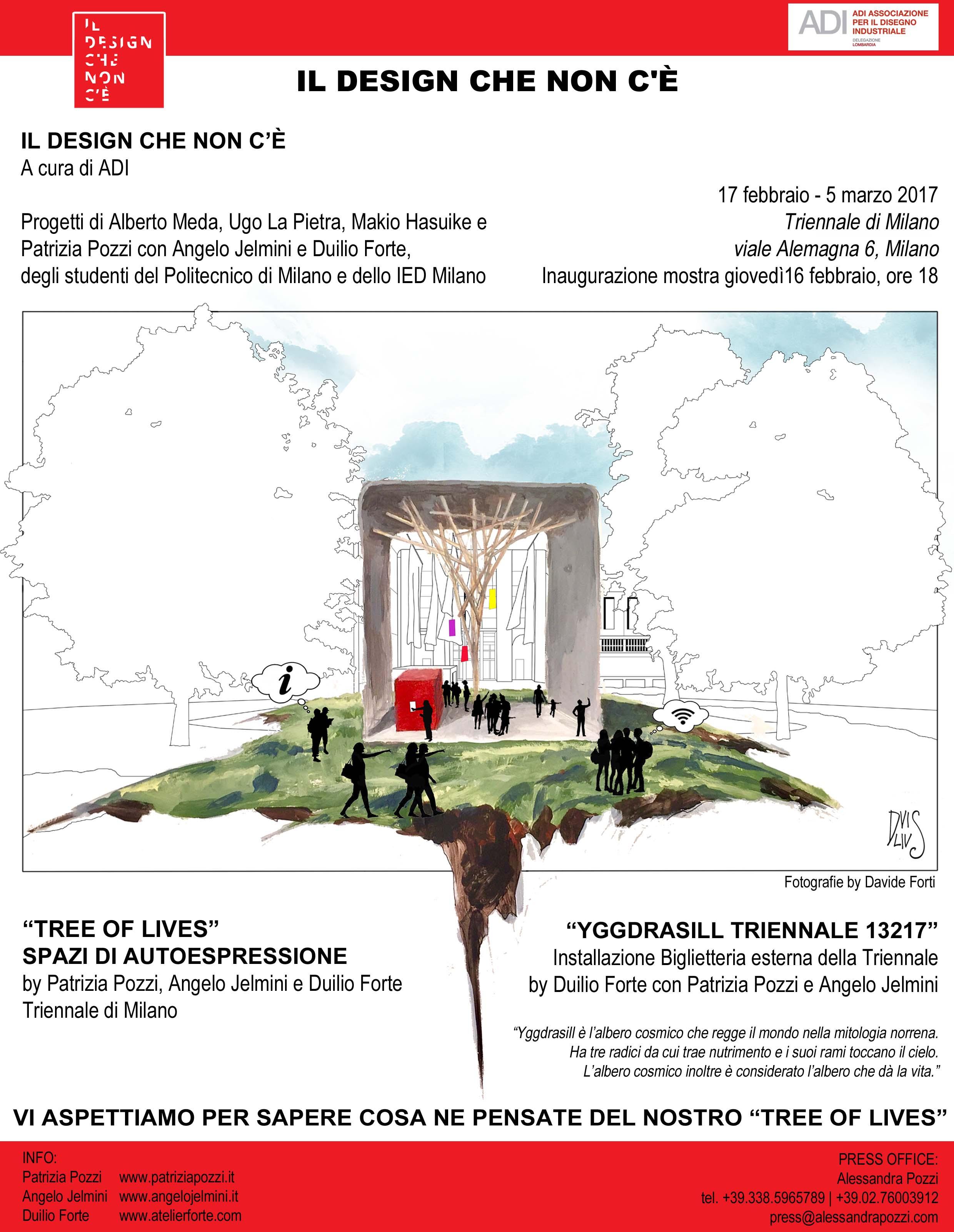 Invito_Tree of Lives_Il design che non c'è
