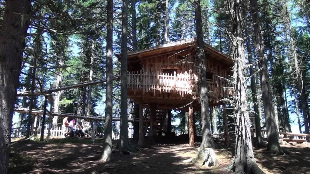_Kugelwald am Glungezer, la casa sull'albero