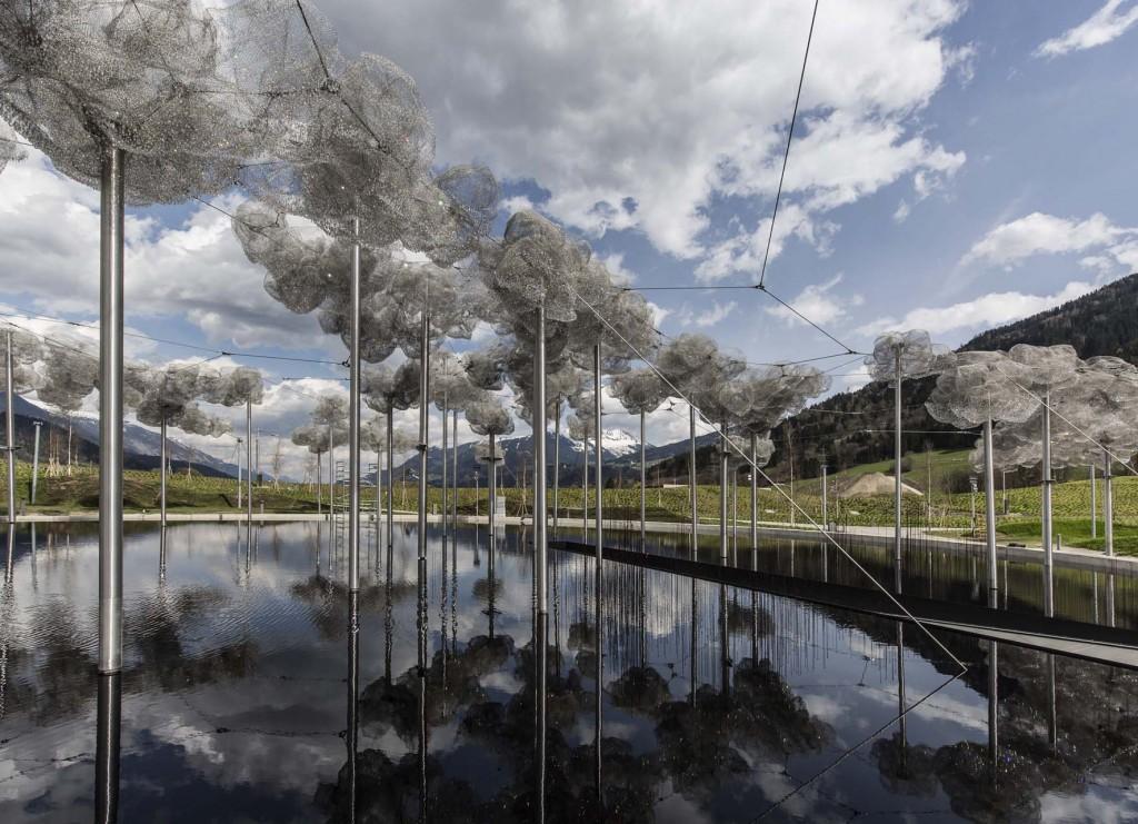 _Mondi di Cristallo Swarovski, Crystal Cloud, progetto dei paesaggisti Cao & Perrot