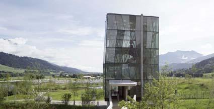 _Mondi di Cristallo Swarovski, Playtower, progetto degli architetti Snøhetta