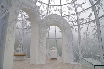 _Mondi di Cristallo Swarovski, Winter Pavilion progetto del designer Tord Boontje