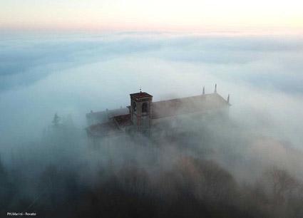 Convento dei frati dell'Annunciata, sul monte Orfano, a Rovato (foto-Marini)