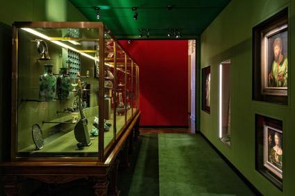 KHM, un ambiente espositivo della mostra di Wes Anderson & amp; Juman Malouf
