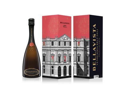 Il Bellavista vendemmia brut 2013 per l'apertura, il 7 dicembre, della nuova stagione de La Scala