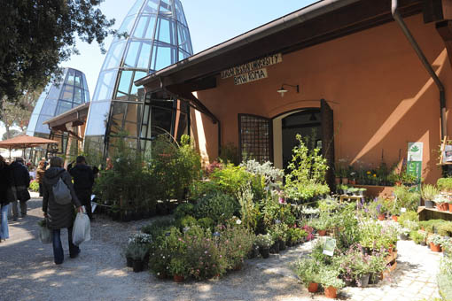 FloraCult Roma, un padiglione espositivo