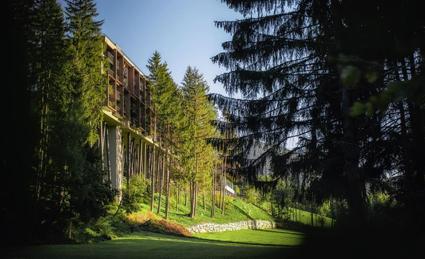 My Arbor hotel, Sant'Andrea di Bressanone, design Gerhard Tauber