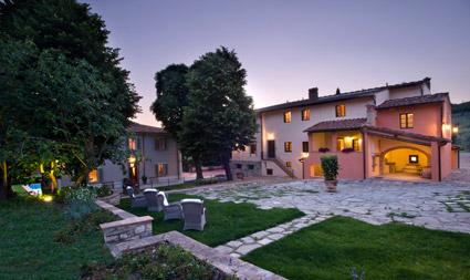 Un tramonto a Borgo I Vicelli (Fi)