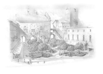 I Maestri del Paesaggio '19, Bergamo, la Green Square di Luciano Giubbilei