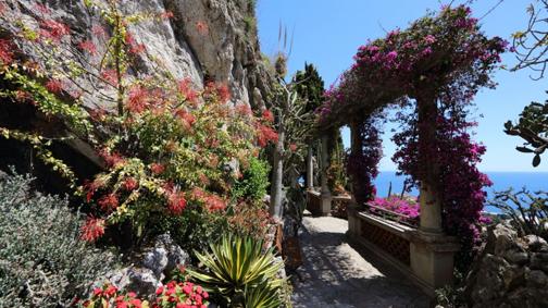 Il belvedere del Giardino Esotico