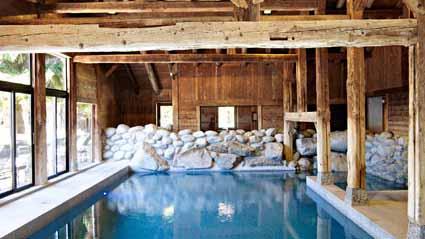 La piscina de Les Fermes de Marie