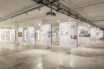 La mostra Agriculture and Architecture (foto di Fabio Cunha)