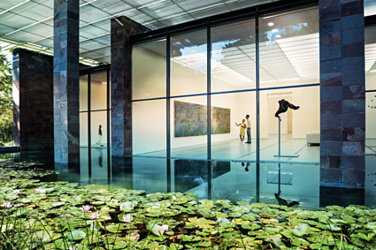 Fondation Beyeler, Rihen_Basilea, design Renzo Piano