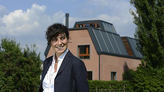 L'architetto Valentina Moretti, ideatrice di More