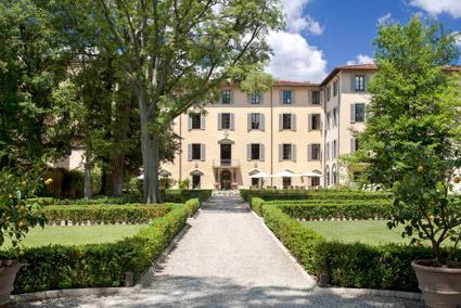 Four Seasons hotel Firenze, La Villa, ex convento del XVI secolo