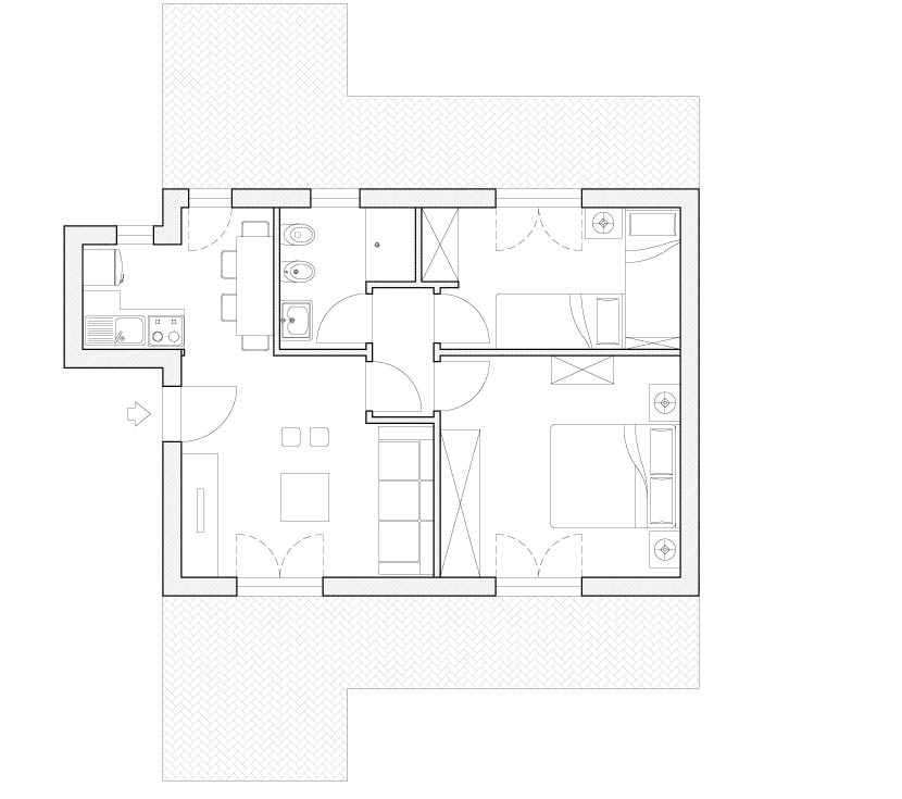 Arredo casa vacanze il progetto in una stanza blog - Progetto casa design ...