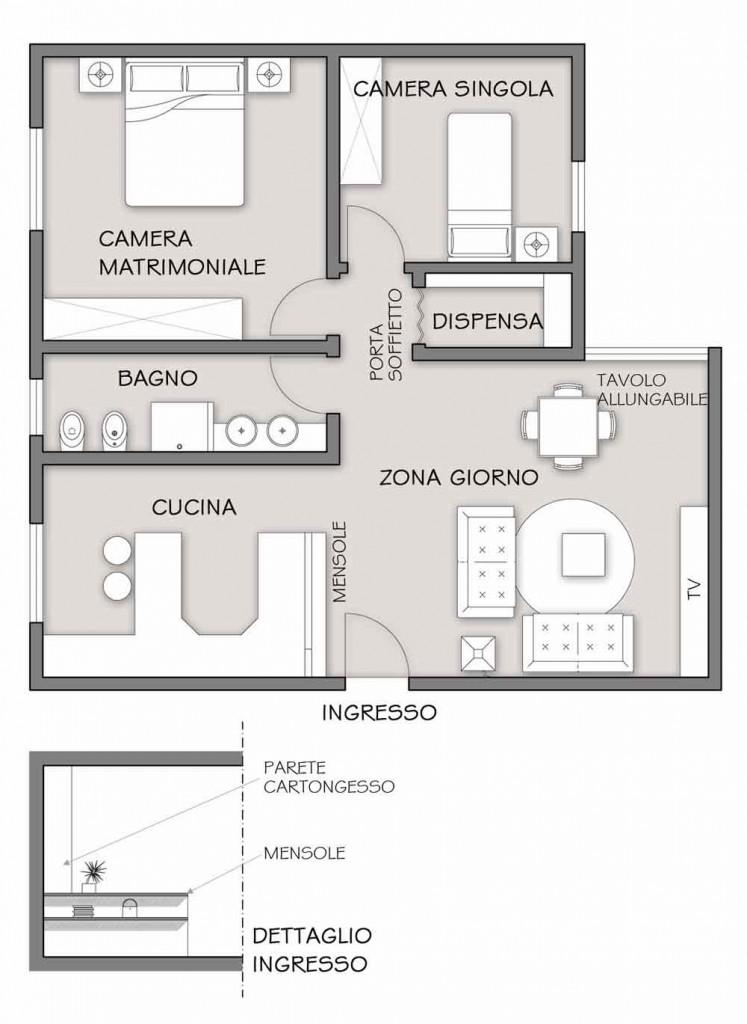Design Bianco E Rosso Il Progetto In Una Stanza Blog Casa Design