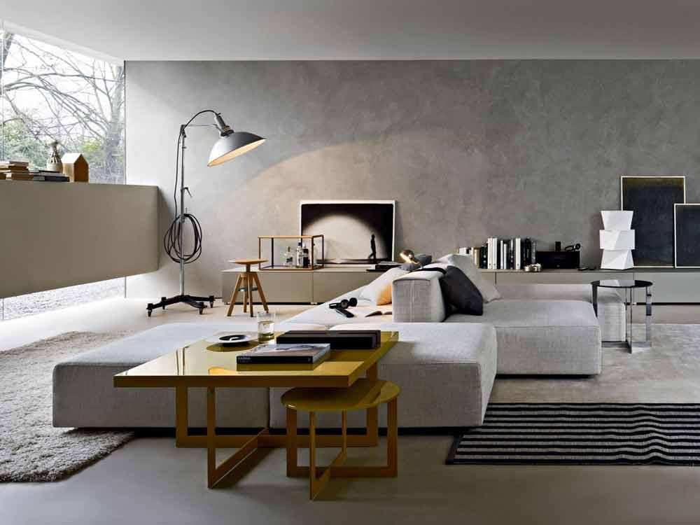 Il protagonista è il divano  Il progetto in una stanza