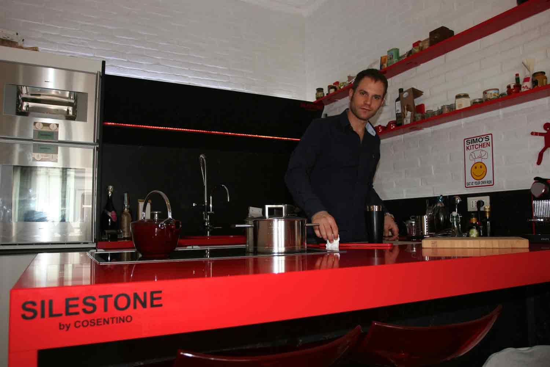 Il top cucina per un grande chef il progetto in una for Casa rugiati