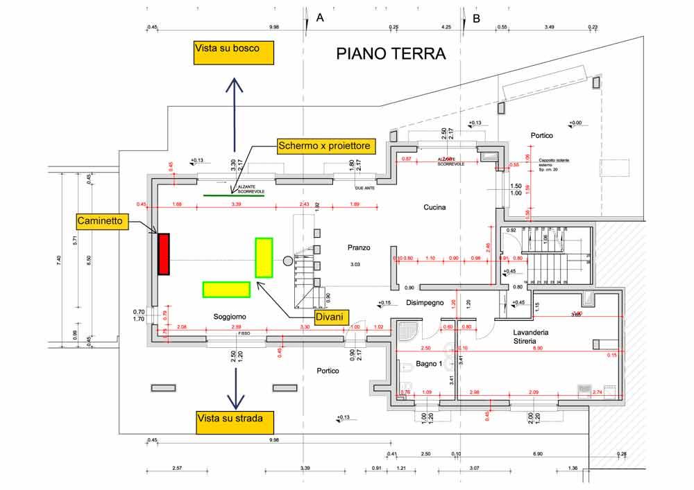Separ il progetto in una stanza blog casa design - Progetto casa design ...