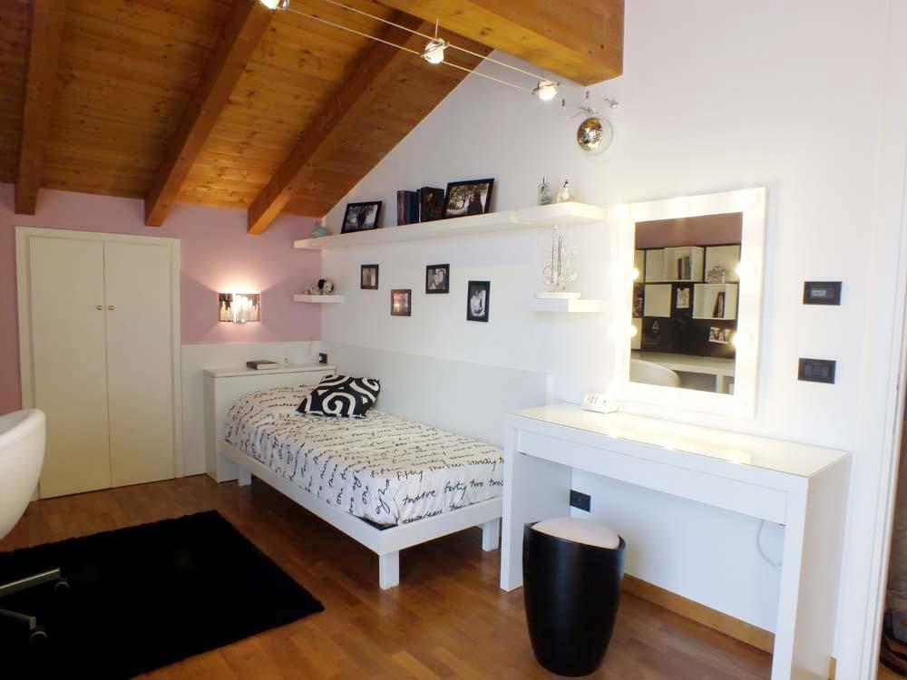La cameretta diventa grande il progetto in una stanza - Cameretta soppalco ikea ...