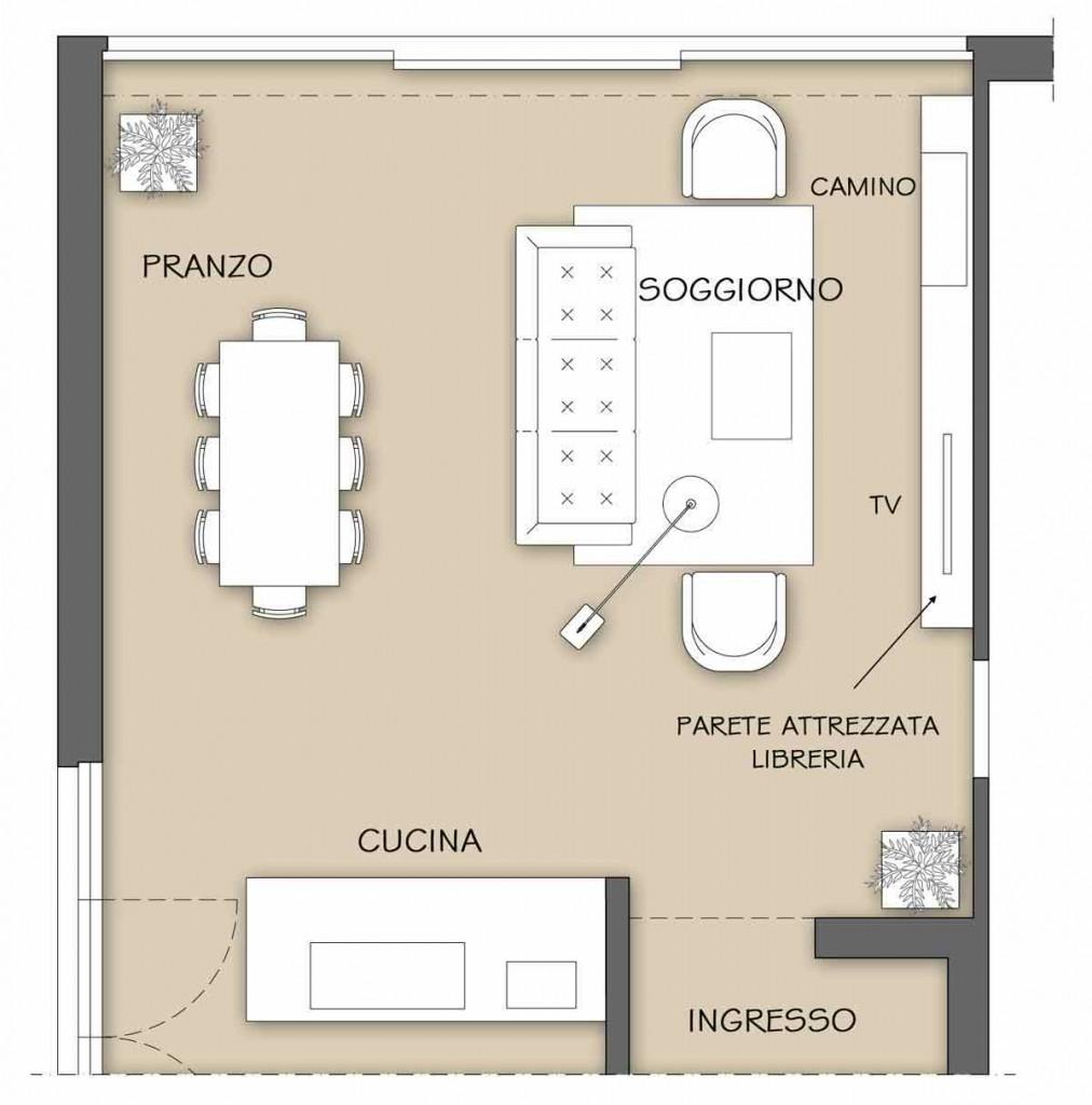 La parete attrezzata per il soggiorno il progetto in una stanza blog casa design for Soggiorno arredato