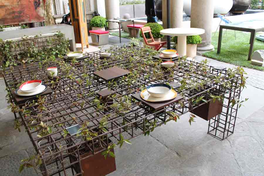 Tavolo vegetale - Studio Grassi Design