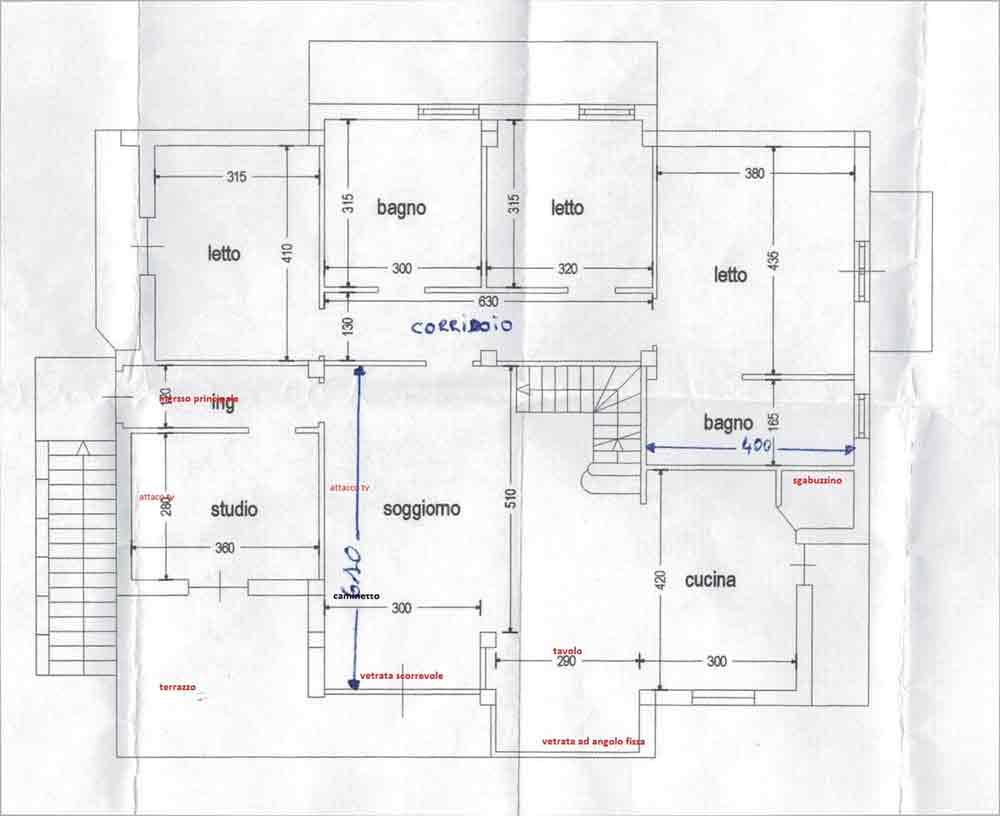 Separare ma non troppo il progetto in una stanza blog for Planimetria stanza