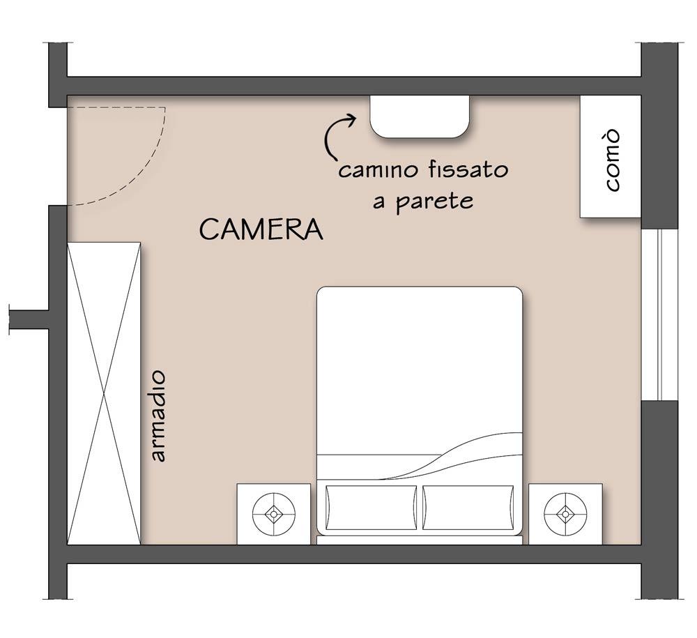 I camini senza canna fumaria il progetto in una stanza - Progetto camera ...