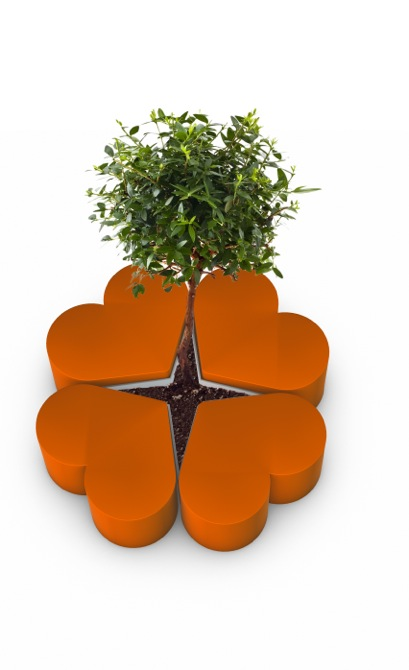 Tricoire The lucky clover 3orange