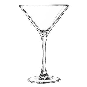5.MARTINI GLASS