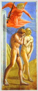 Masaccio-CacciatadalParadiso dopo il restauro