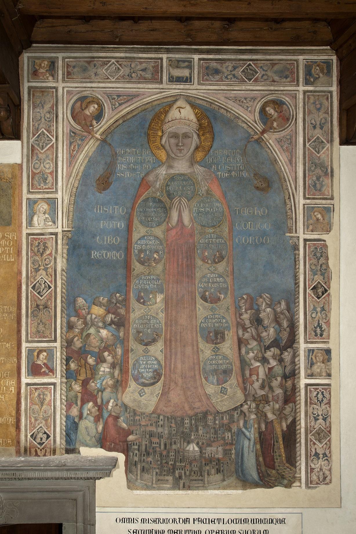 firenze e la madonna della misericordia restaurando