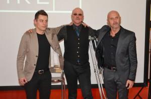 Gary Fisher con Enzo e Cesare della Cussigh Bike