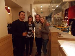 Da sinistra Marco Guarnieri, Giulia Borina e Paolo Fumo