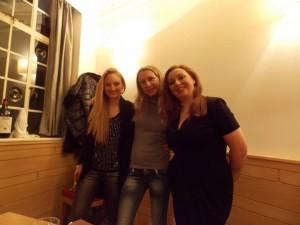 Con Fabrizia Corsi e Paola Bassanese