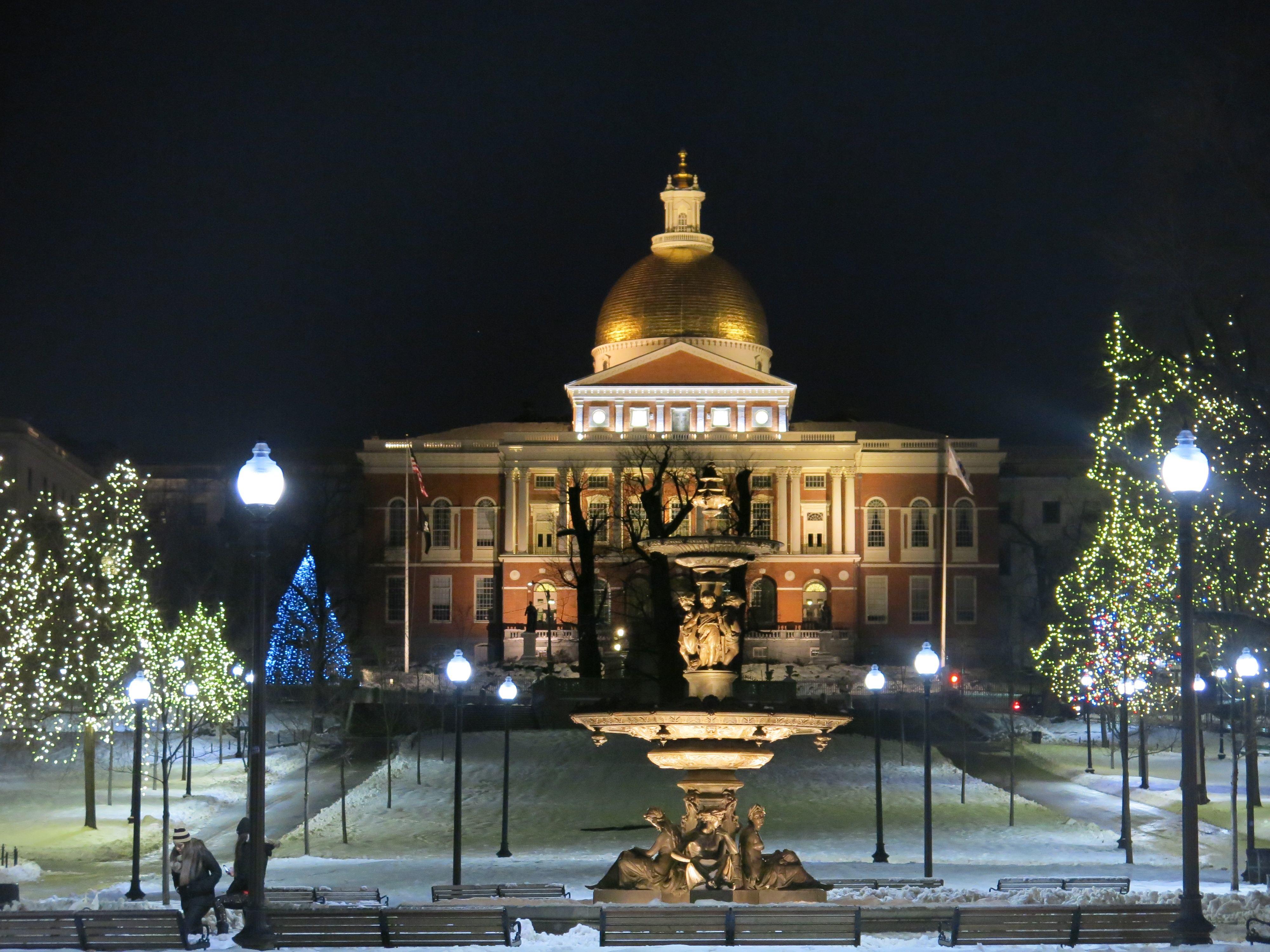 Immagini Natale Usa.Natale All Estero Dolci Negozi Regali E Curiosita From Boston