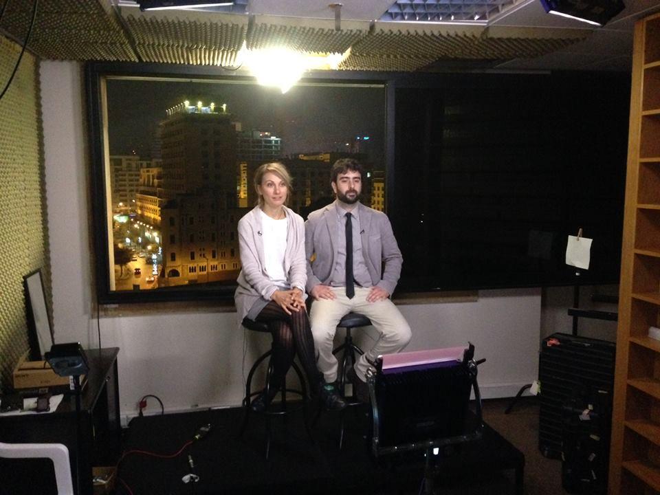 intervista per la CNN