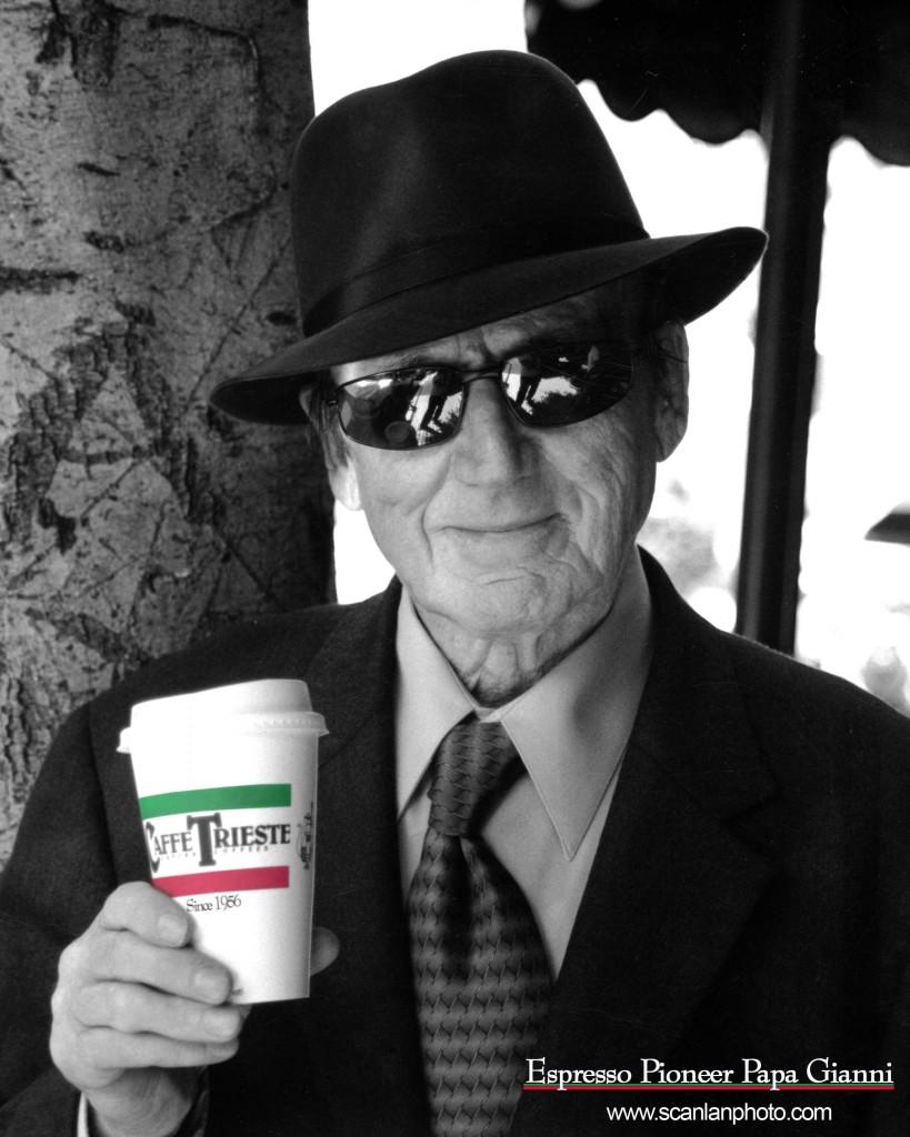 Giovanni, fondatore del caffè Trieste