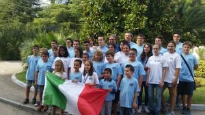 Croazia europei juniores foto di gruppo