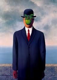 R. Magritte - Il figlio dell'uomo -