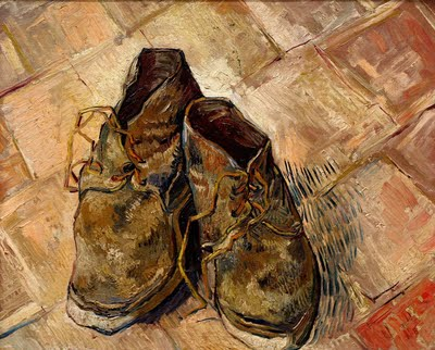 van gogh scarpe rotte