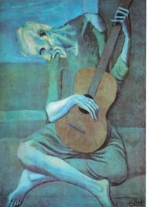 Picasso Pablo - Il vecchio chitarrista