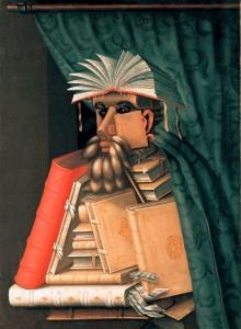 Arcimboldo-Il bibliotecario