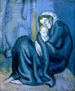 Picasso Pablo - La madre e il figlio
